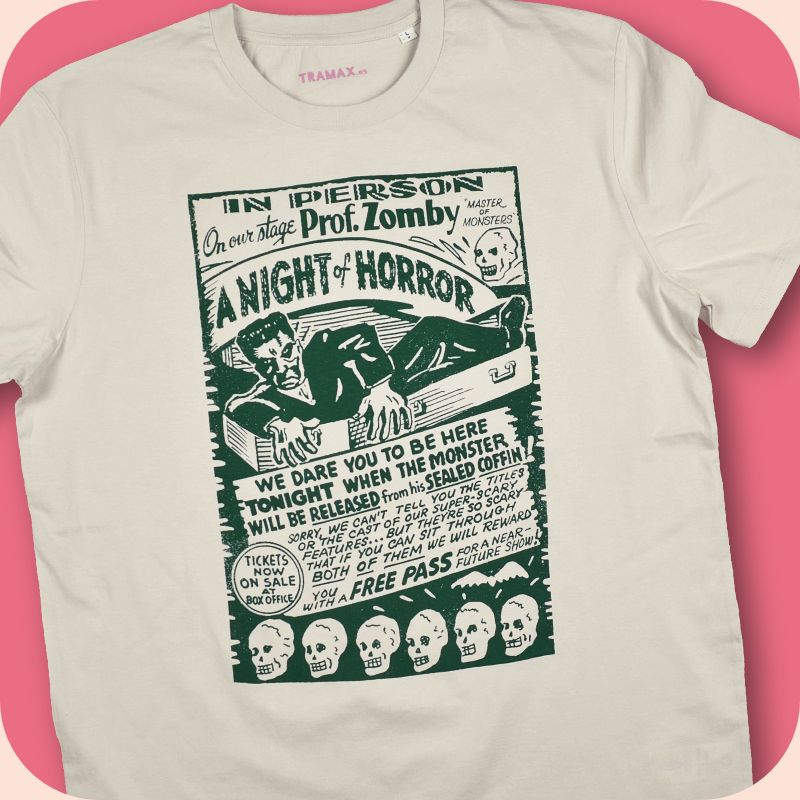 A NIGHT OF HORROR / With Prof. Zomby